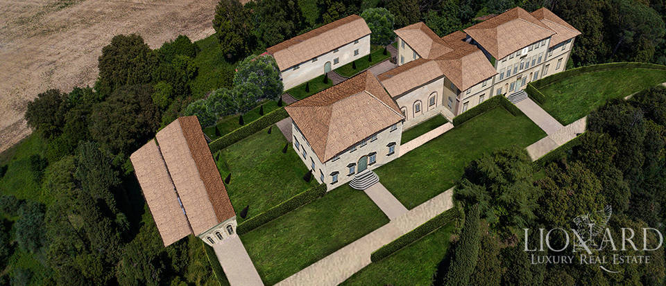 Historical villa for sale in the heart of Tuscany Image 17