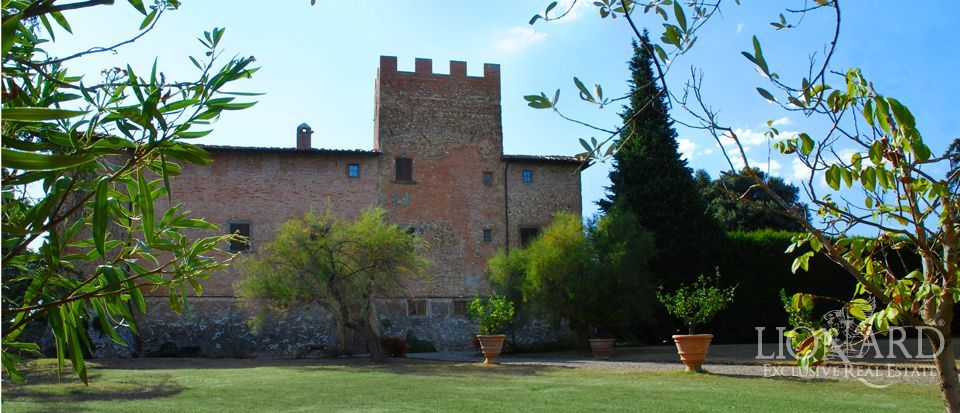 Castle in Chianti Hills