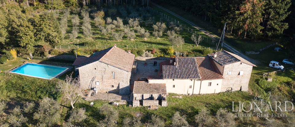 Farmstead with swimming pool for sale in Florence Image 1