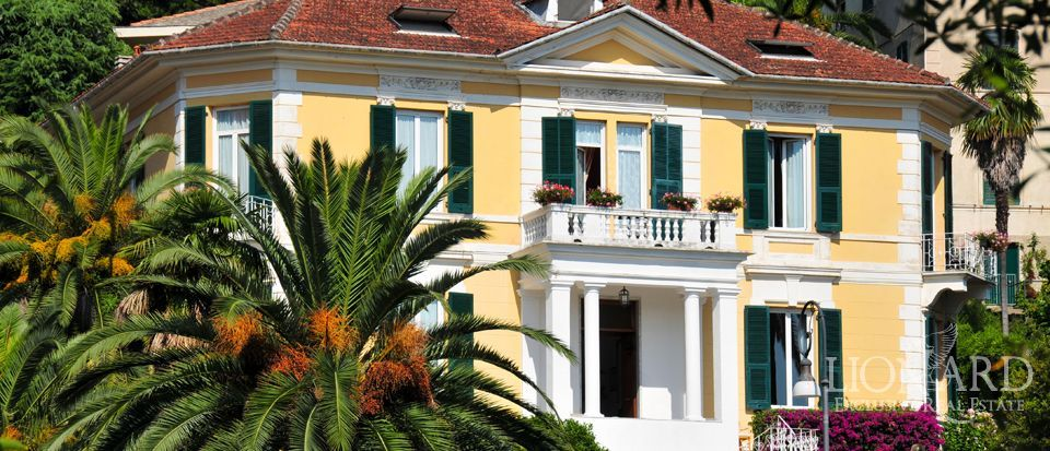 Villa on the ligurian coast