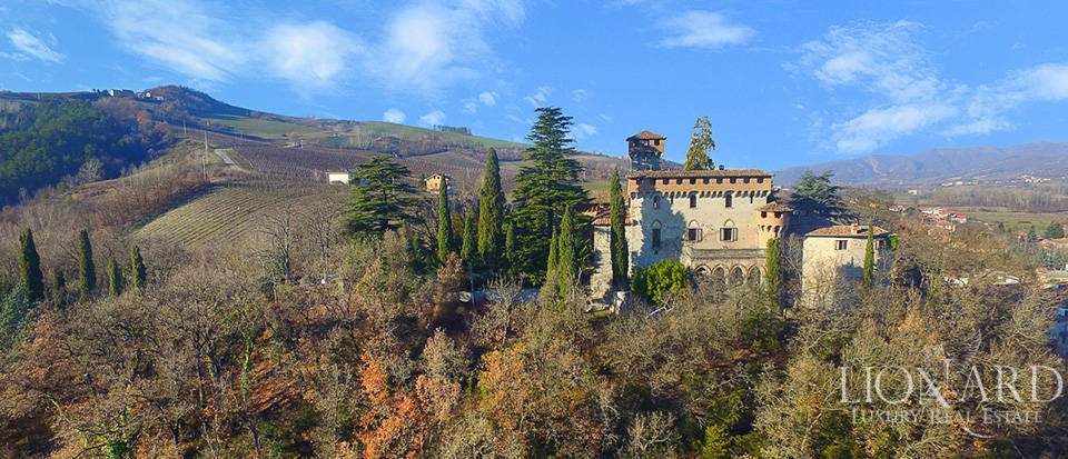 CASTLE FOR SALE IN PIEDMONT, NORTHERN ITALY Image 1