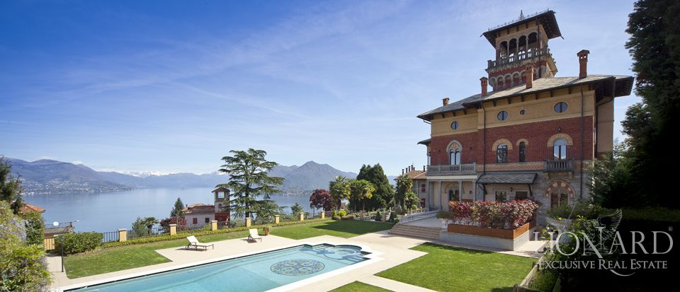 Villas in Lake Maggiore, International Real Estate Image 1