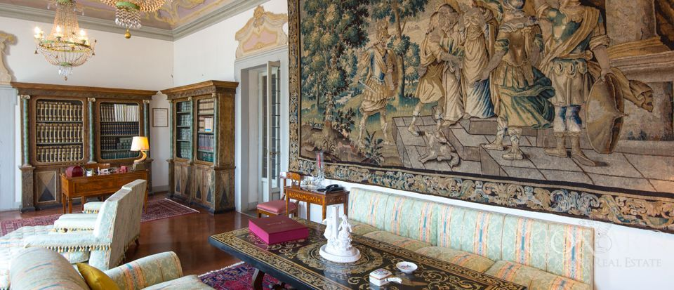 Villa Antinori di Monte Aguglioni, previously belonging to the Monna Lisa
