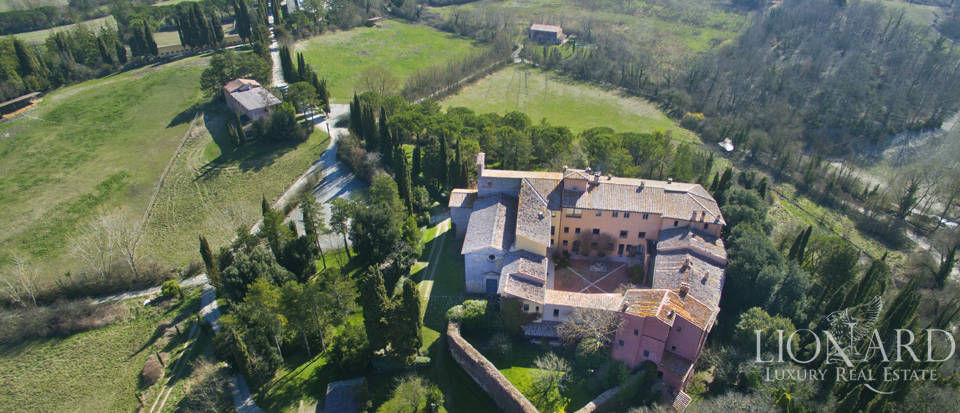 Ancient abbey for sale in Siena