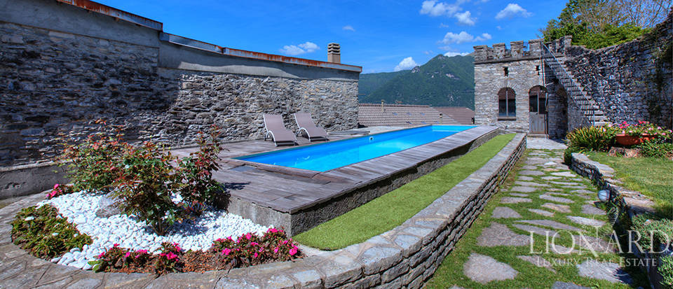 Historical building for sale by Lake Como