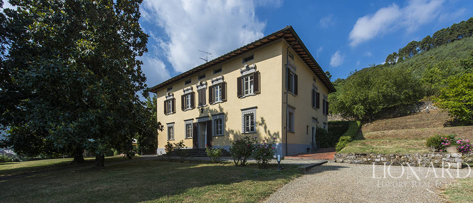 Magnificent estate for sale in Lucca