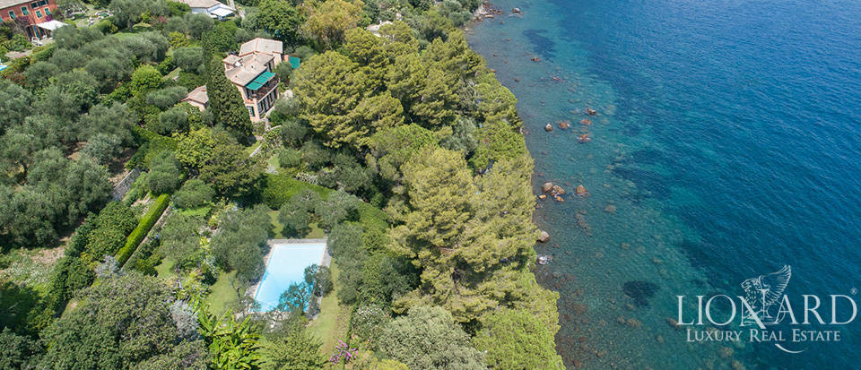 Luxury villa with view of Portofino for sale