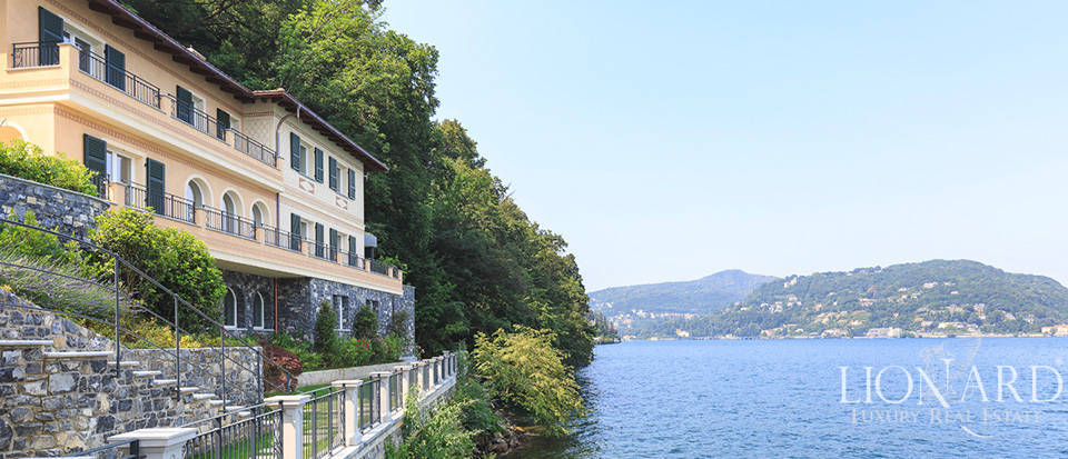 Wonderful villa in front of Lake Como