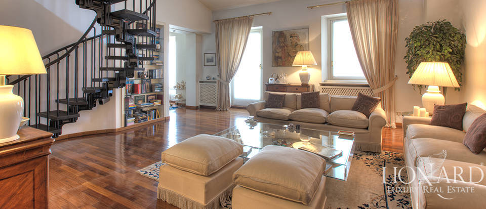 Exclusive luxury penthouse for sale in Milan