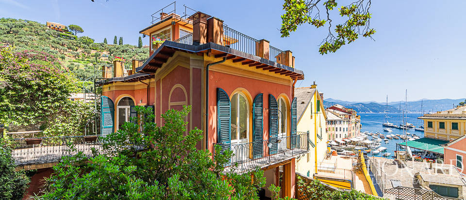 Luxury villa on Portofino's piazzetta