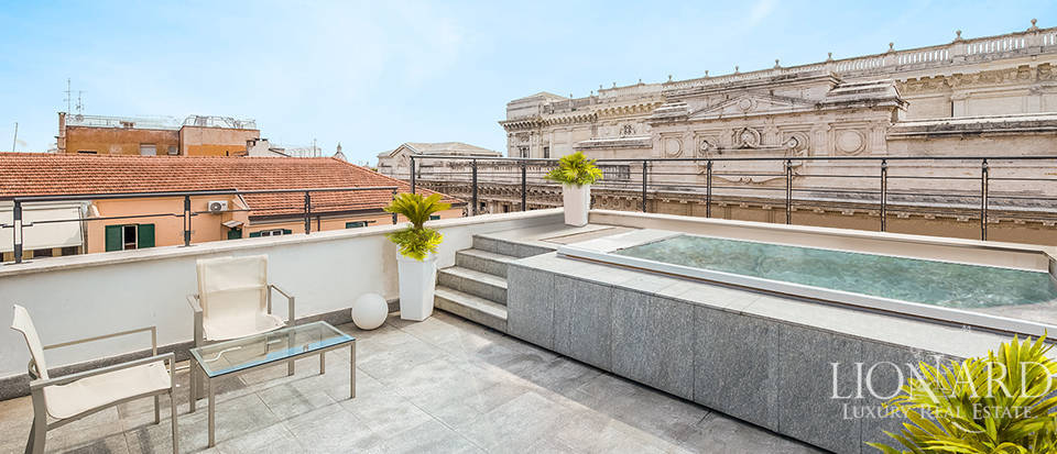 Luxury penthouse for sale in Rome's historical centre