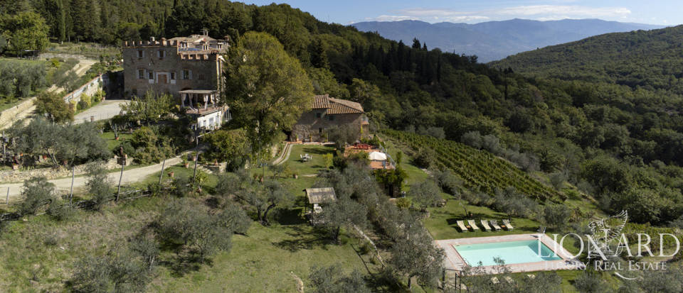 Wonderful castle for sale in Chianti