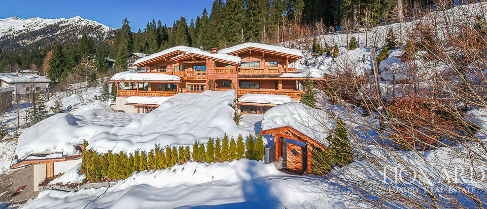 Exclusive chalet in Madonna di Campiglio
