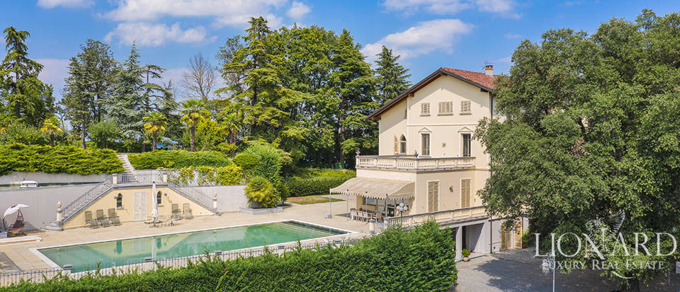 Stunning villa with a view of Monferrato