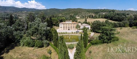 magnificent luxury villa for sale in arezzo