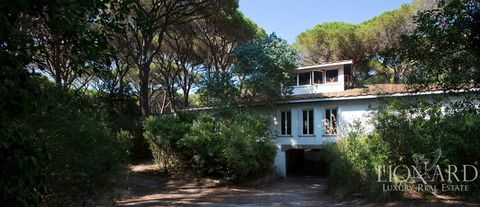 luxury villa for sale in the pine foest of roccamare