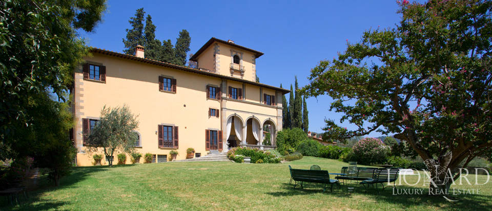exclusive luxury villa hills firenze