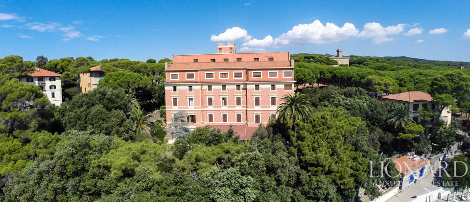 famous luxury hotel for sale in castiglioncello