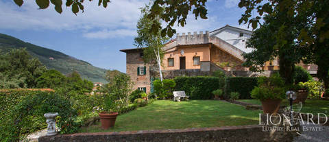luxury historic villa for sale near pisa