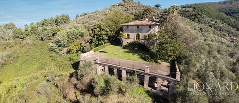 luxus villa in panoramalage in lucca