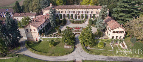 magnificent historiallinen luxury villa piemontessa
