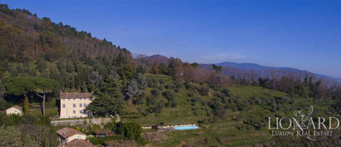 luxury villa pool hills lucca