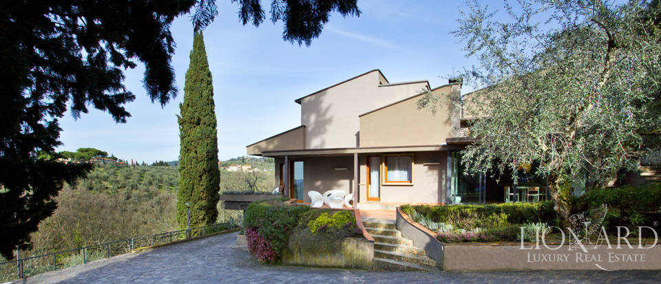modern luxury villa for sale in the hills of florence