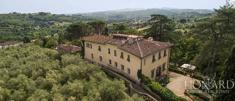 15th century luxury villa on florence s hills