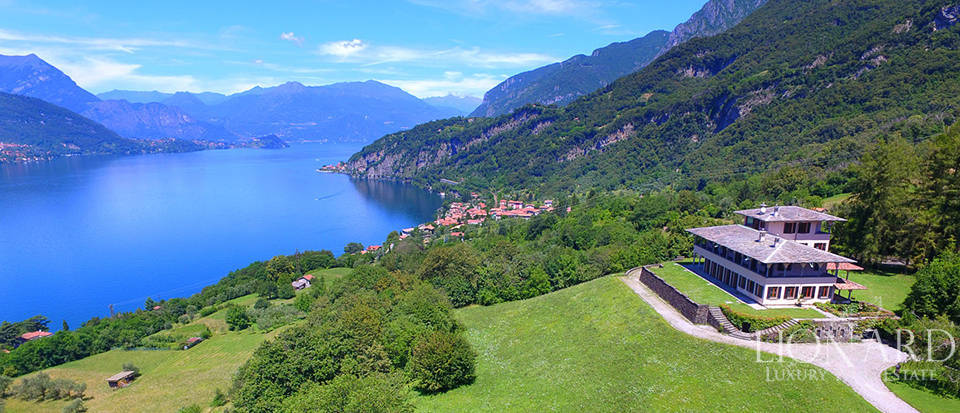 prestigious luxury villa on lake como