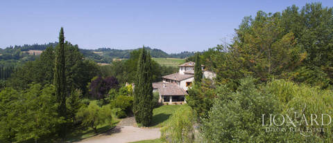 typical tuscan villa on florence s hills