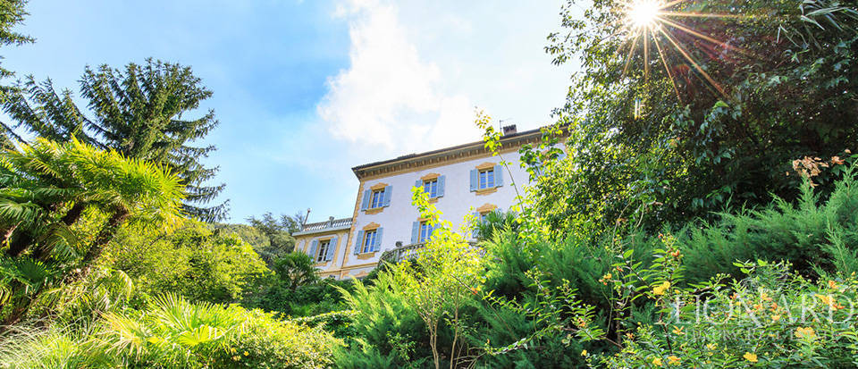 19th century luxury villa on lake como