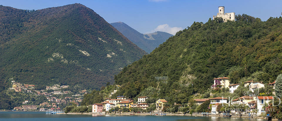 ancient castle for sale on lake iseo