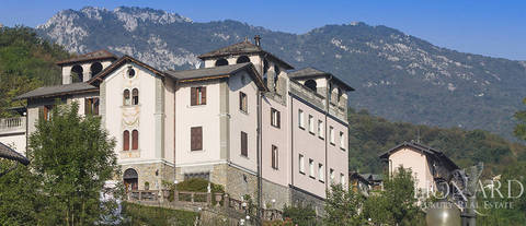 prestigious luxury resort for sale in bergamo