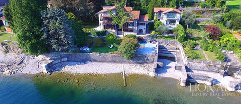 wonderful luxury villa for sale on lake como
