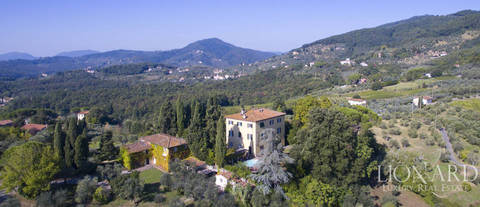 historic estate for sale in lucca s countryside