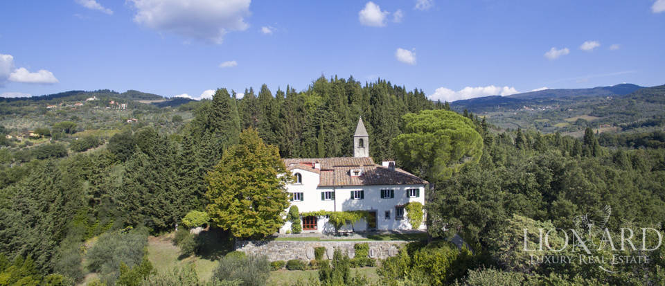 charming historic villa for sale in fiesole