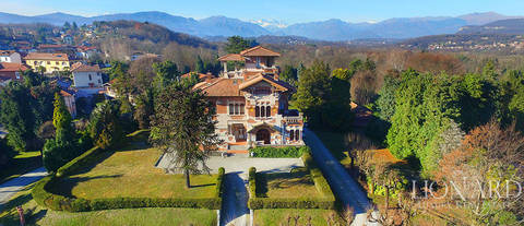luxury villa for sale by lake varese