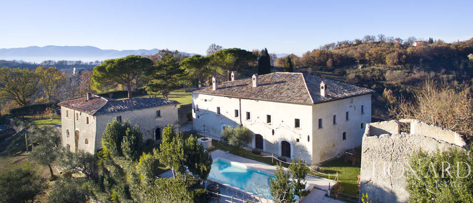 stunning estate for agritourism for sale in rieti