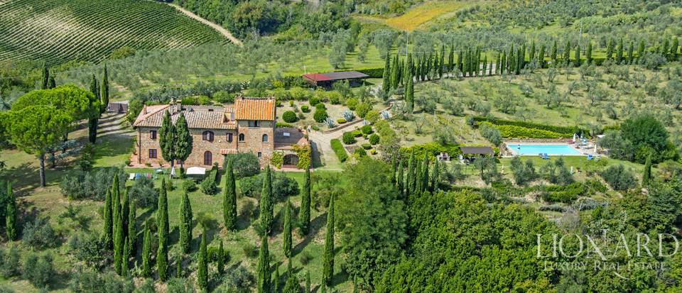 typical rustic farmhouse for sale in florence