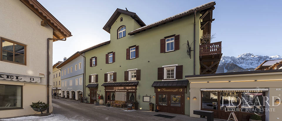 Manor house for sale in the heart of the Dolomites Image 1