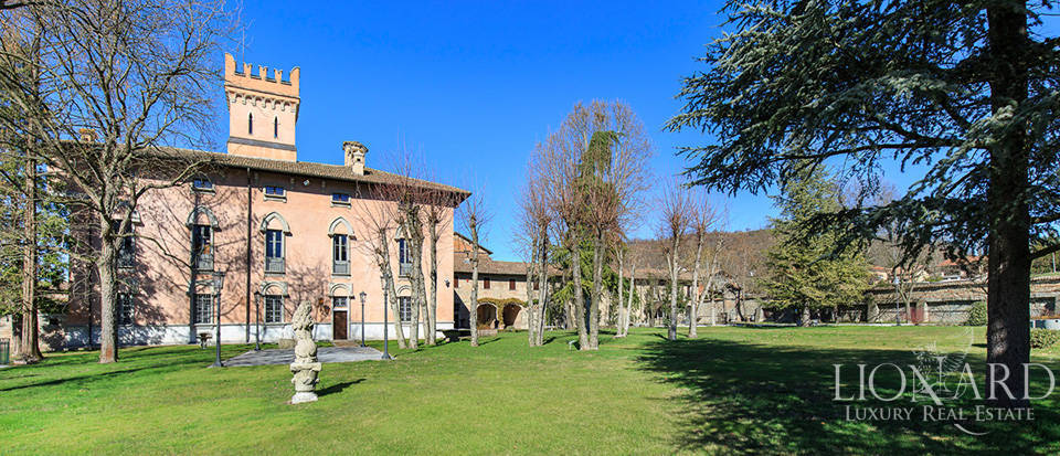 stunning castle for sale on tortona s hills