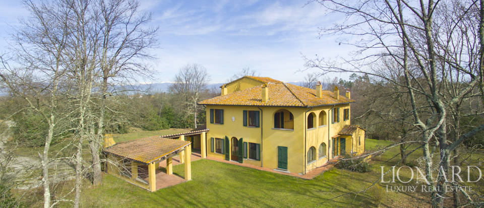 charming refined villa in florence s area