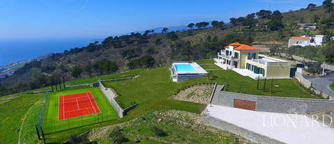 beautiful villa by liguria s sea