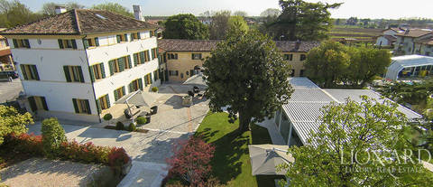 historical villa in treviso s countryside