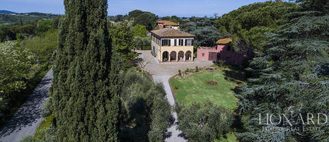 period villa for sale near pisa