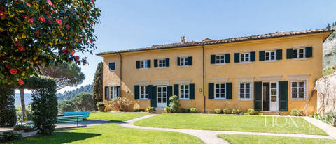 luxury villa with grounds for sale in camaiore