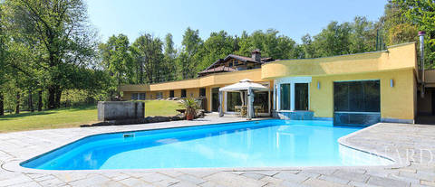 exclusive estate with spa and swimming pool near novara