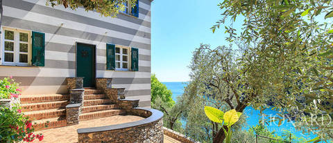 magnifica villa ao pe do mar em santa margherita ligure