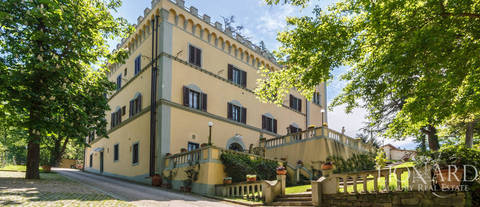 elegant little castle for sale near florence