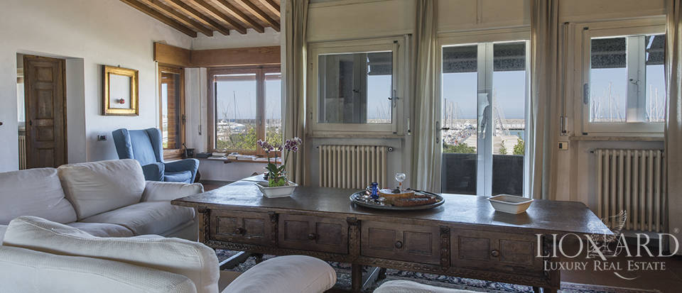 stunning villa with view of castigliocello s port